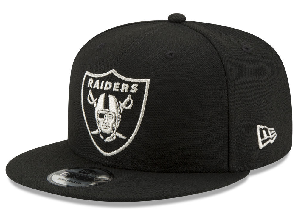 b111aeab60f Oakland Raiders New Era NFL Tracer 9FIFTY Snapback Cap