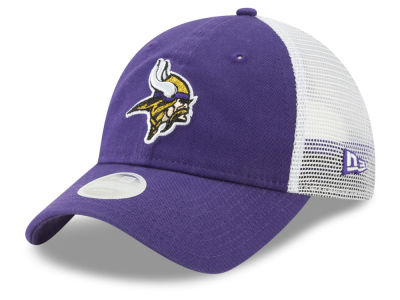 Minnesota Vikings New Era NFL Women's Trucker Shine 9TWENTY Cap