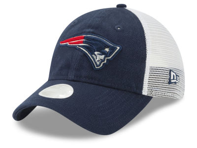 New England Patriots New Era NFL Women's Trucker Shine 9TWENTY Cap