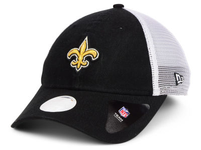 New Orleans Saints New Era NFL Women's Trucker Shine 9TWENTY Cap