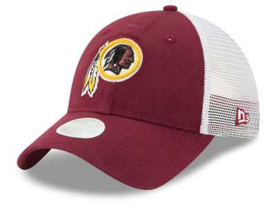 Washington Redskins New Era NFL Women's Trucker Shine 9TWENTY Cap