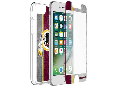 Washington Redskins OtterBox iPhone Alpha Glass Protector With Clear Case