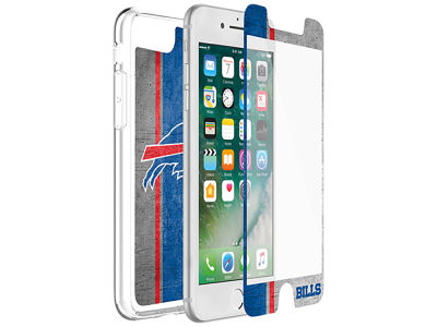 Buffalo Bills OtterBox iPhone Plus Alpha Glass Protector With Clear Case