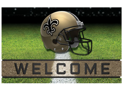 New Orleans Saints Fan Mats Crumb Rubber Door Mat