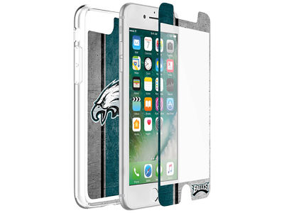 Philadelphia Eagles OtterBox iPhone Plus Alpha Glass Protector With Clear Case