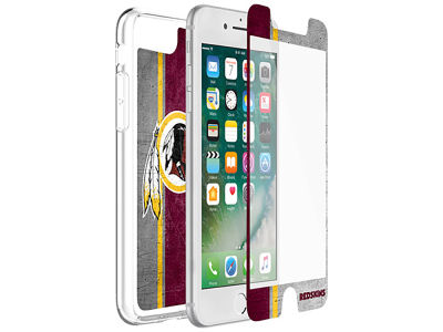 Washington Redskins OtterBox iPhone Plus Alpha Glass Protector With Clear Case
