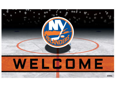 New York Islanders Fan Mats Crumb Rubber Door Mat