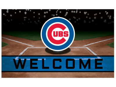 Chicago Cubs Fan Mats Crumb Rubber Door Mat