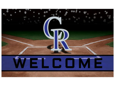 Colorado Rockies Fan Mats Crumb Rubber Door Mat