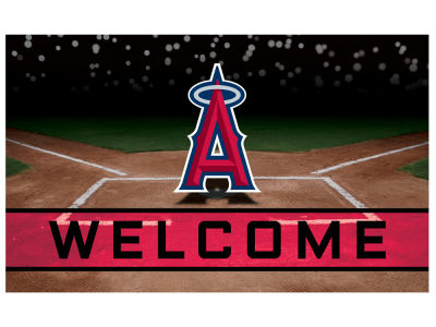 Los Angeles Angels Fan Mats Crumb Rubber Door Mat