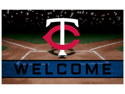 Minnesota Twins Fan Mats Crumb Rubber Door Mat