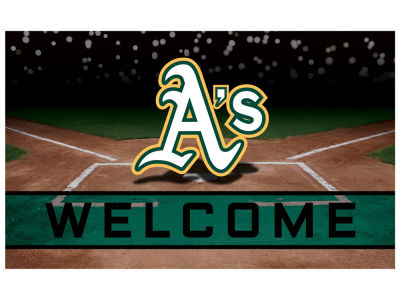 Oakland Athletics Fan Mats Crumb Rubber Door Mat