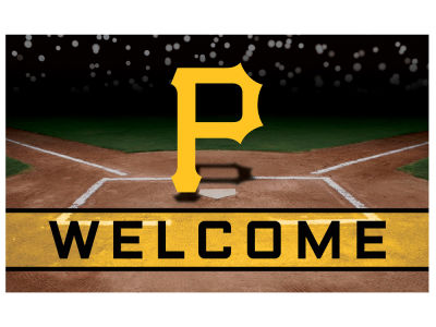 Pittsburgh Pirates Fan Mats Crumb Rubber Door Mat