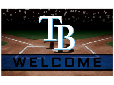 Tampa Bay Rays Fan Mats Crumb Rubber Door Mat