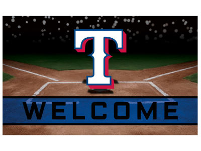 Texas Rangers Fan Mats Crumb Rubber Door Mat