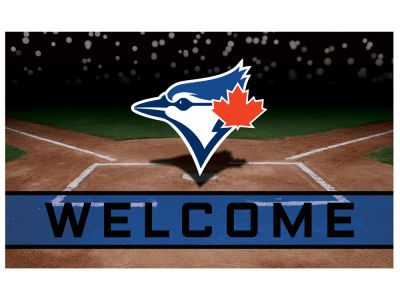 Toronto Blue Jays Fan Mats Crumb Rubber Door Mat