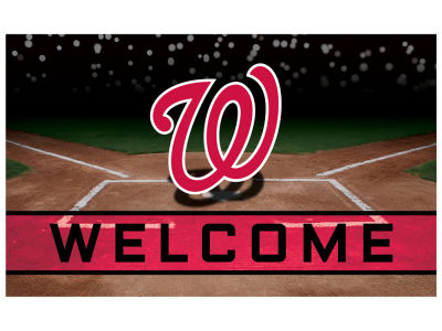 Washington Nationals Fan Mats Crumb Rubber Door Mat