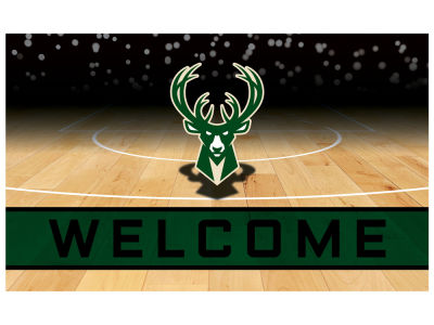 Milwaukee Bucks Fan Mats Crumb Rubber Door Mat