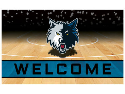 Minnesota Timberwolves Fan Mats Crumb Rubber Door Mat