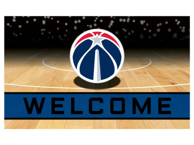 Washington Wizards Fan Mats Crumb Rubber Door Mat