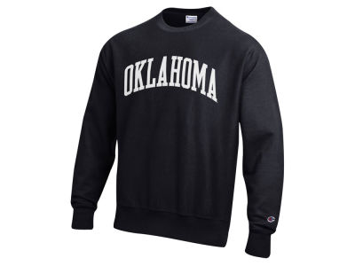 Oklahoma Sooners Champion NCAA Men's Reverse Weave Crew Sweatshirt