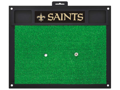 New Orleans Saints Fan Mats Golf Hitting Mat
