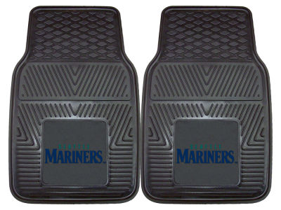 Seattle Mariners Fan Mats 2 Piece Vinyl Car Mat Set