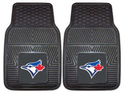Toronto Blue Jays Fan Mats 2 Piece Vinyl Car Mat Set