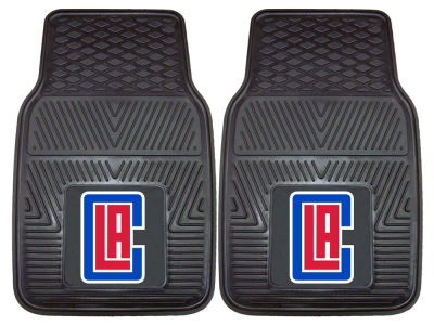 Los Angeles Clippers Fan Mats 2 Piece Vinyl Car Mat Set