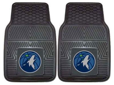 Minnesota Timberwolves Fan Mats 2 Piece Vinyl Car Mat Set