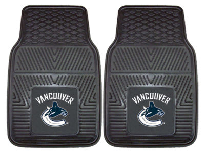 Vancouver Canucks Fan Mats 2 Piece Vinyl Car Mat Set