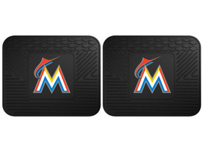 Miami Marlins Fan Mats 2 Utility Mats
