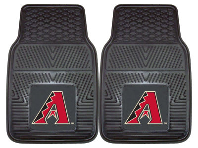 Arizona Diamondbacks Fan Mats 2 Piece Vinyl Car Mat Set