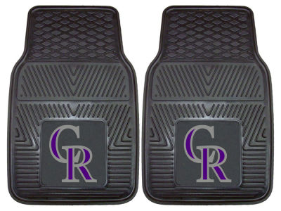 Colorado Rockies Fan Mats 2 Piece Vinyl Car Mat Set