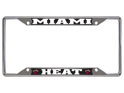 Miami Heat NBA License Plates & Frames | lids.com