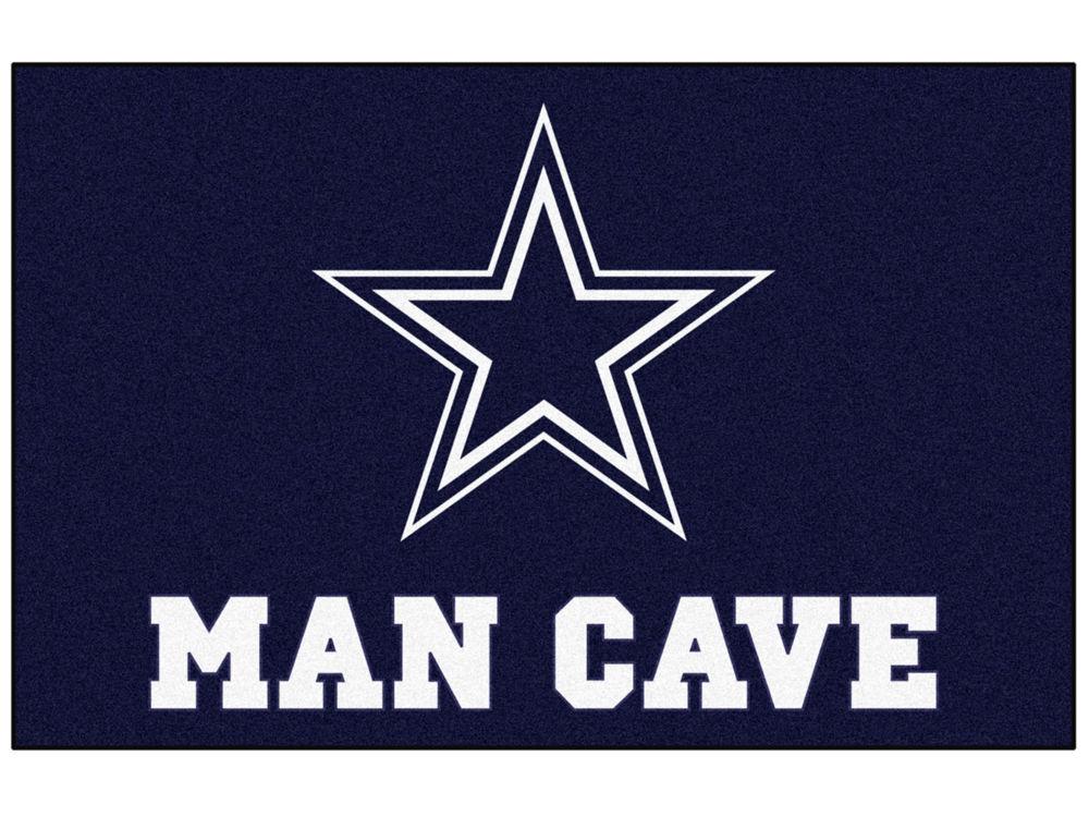Dallas Cowboys Fan Mats Man Cave All Star Mat Lids