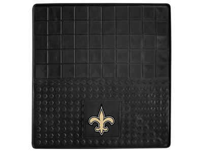 New Orleans Saints Fan Mats Heavy Duty Vinyl Cargo Mat