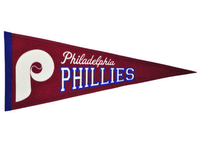 Philadelphia Phillies Winning Streak MLB Cooperstown Pennant