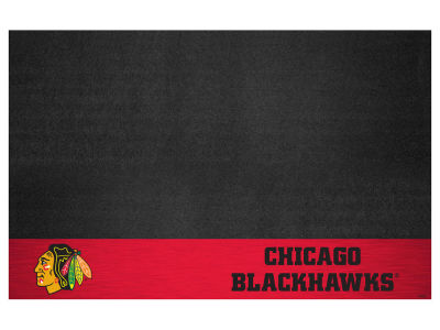 Chicago Blackhawks Fan Mats Grill Mat