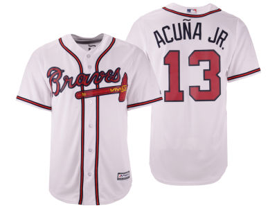 Atlanta Braves Ronald Acuna Majestic MLB Men's Player Replica Cool Base Jersey