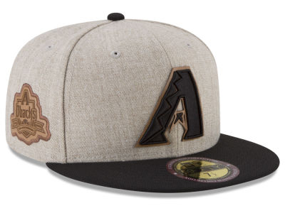 Arizona Diamondbacks New Era MLB Leather Ultimate Patch Collection 59FIFTY Cap