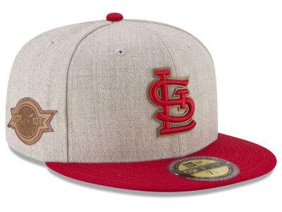 St. Louis Cardinals New Era MLB Leather Ultimate Patch Collection 59FIFTY Cap