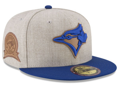 Toronto Blue Jays New Era MLB Leather Ultimate Patch Collection 59FIFTY Cap