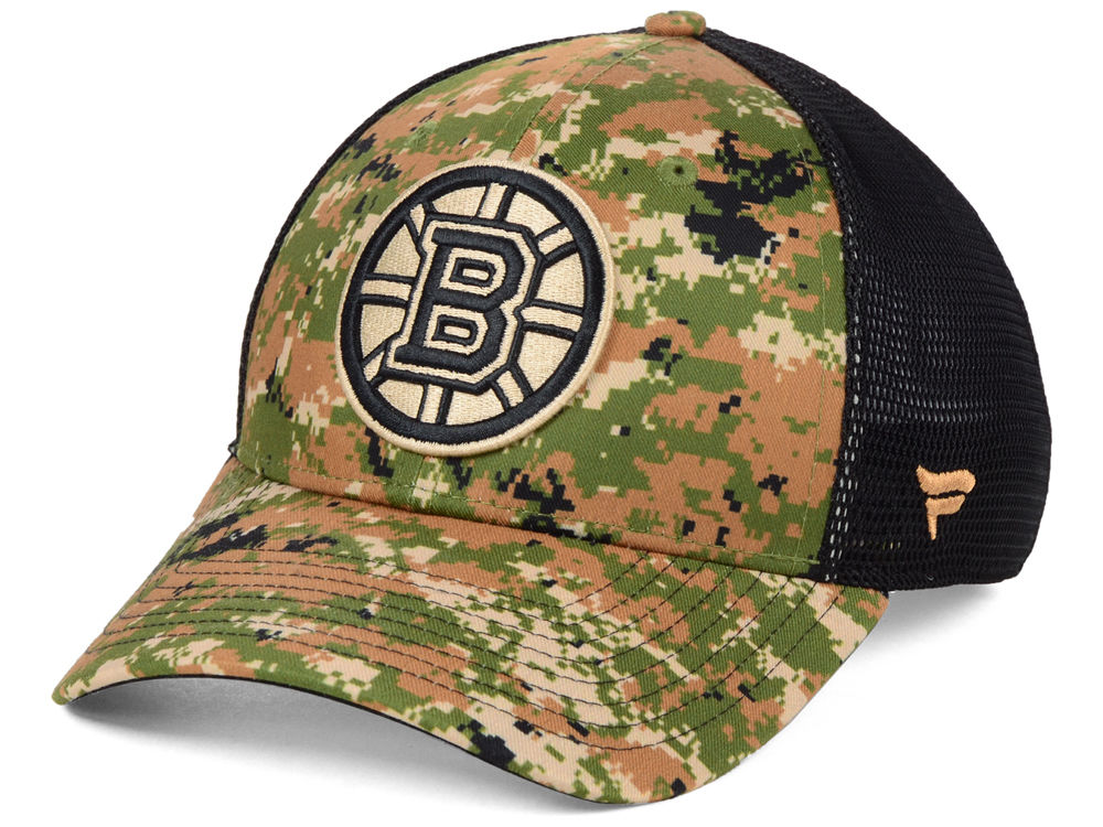 Boston Bruins NHL Military Appreciation Speed Flex Cap  df8cdf5484c