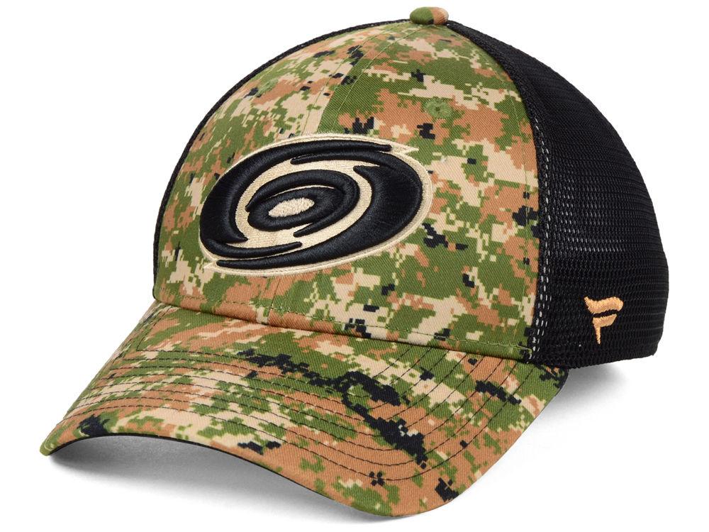 1823ca55a Carolina Hurricanes NHL Military Appreciation Speed Flex Cap