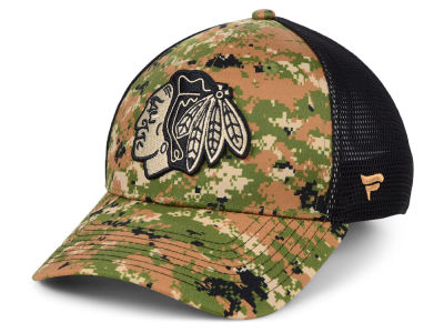 Chicago Blackhawks NHL Military Appreciation Speed Flex Cap