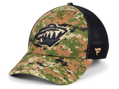 Minnesota Wild NHL Military Appreciation Speed Flex Cap