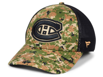 Montreal Canadiens NHL Military Appreciation Speed Flex Cap