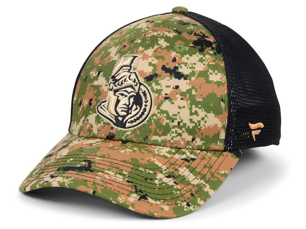 02c1c9b69 Ottawa Senators NHL Military Appreciation Speed Flex Cap