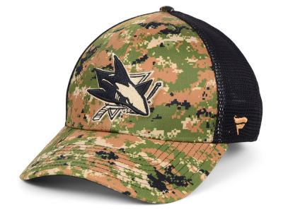 San Jose Sharks NHL Military Appreciation Speed Flex Cap